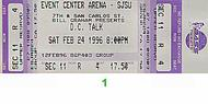 D.C. Talk 1990s Ticket
