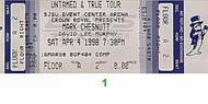 Mark Chesnutt 1990s Ticket