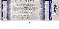 Mark Chesnutt Vintage Ticket
