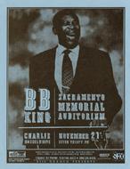 B.B. King Handbill