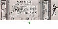 The Wallflowers1990s Ticket