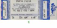 Metallica1990s Ticket