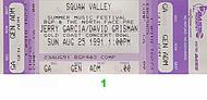 Jerry Garcia 1990s Ticket