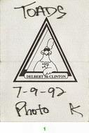 Delbert McClinton Backstage Pass