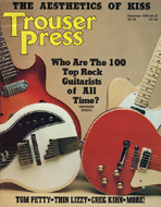 Trouser Press Issue 34 Magazine