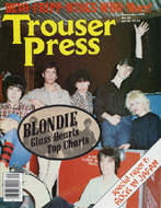 Blondie Trouser Press Magazine