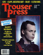 Gary Numan Trouser Press Magazine