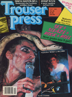Alice Cooper Trouser Press Magazine