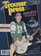 Joan Jett Trouser Press Magazine