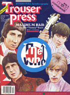 Trouser Press Issue 78 Magazine