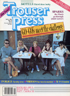 The Go-Go's Trouser Press Magazine