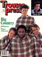 Big Country Trouser Press Magazine