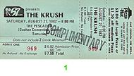 The Krush 1980s Ticket