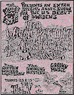 The Wylde Mammoths Handbill
