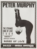 Peter MurphyHandbill