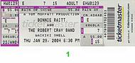 Bonnie Raitt Post 2000 Ticket
