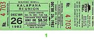 Kalapana Vintage Ticket