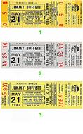 Jimmy Buffett1980s Ticket