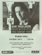 Dan FogelbergHandbill