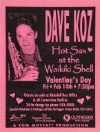 Dave KozHandbill