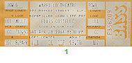 Elvis CostelloVintage Ticket