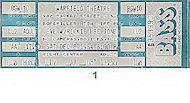 Rickie Lee JonesVintage Ticket