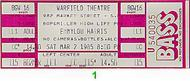 Emmylou Harris1980s Ticket