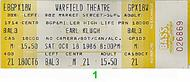Earl Klugh1980s Ticket