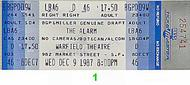 The Alarm 1980s Ticket