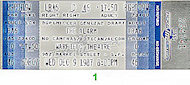 The Alarm Vintage Ticket