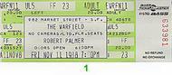 Robert Palmer1980s Ticket