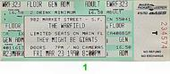 They Might Be Giants 1990s Ticket