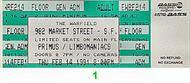 Primus1990s Ticket