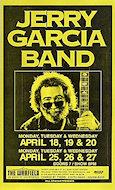 Jerry Garcia BandPoster