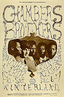 The Chambers Brothers Handbill