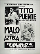 Tito Puente and His 15-Piece Orchestra Poster