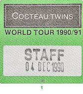 Cocteau TwinsBackstage Pass