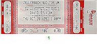 David SylvianVintage Ticket