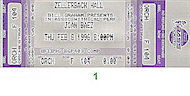 Joan Baez Vintage Ticket