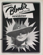 Official Blondie Fan Club Newsletter Book