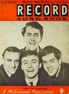Record Song Book Book
