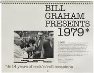 Bill Graham Presents Wall Calendar