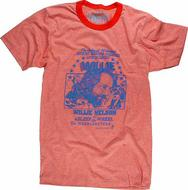 Willie Nelson Men's Retro T-Shirt