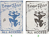 Bryan FerryBackstage Pass