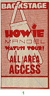 Howie MandelBackstage Pass