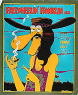 Freewheelin' Franklin Serigraph