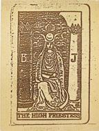 The High Priestess Poster
