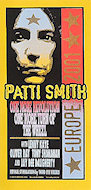 Patti Smith Handbill