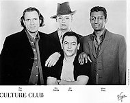 Culture Club Promo Print