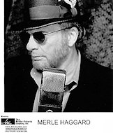 Merle HaggardPromo Print